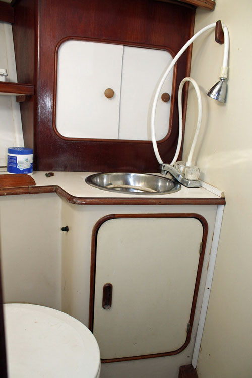An Iwin 40 Citation sailboat for sale