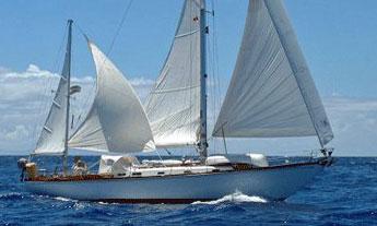 Hinckley 42 sailboat