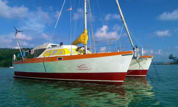 'Vimala', a Hitchhiker 40 catamaran for sale