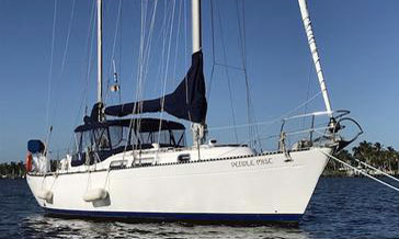 A Hughes 40 sailboat for sale
