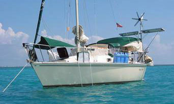 A Hunter 255 sailboat for sale