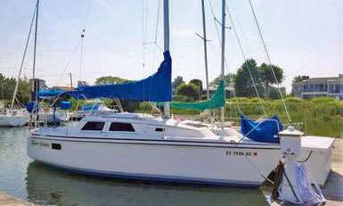 Hunter 27.2 sailboat for sale
