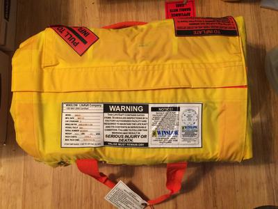 Winslow 6 Person Life Raft