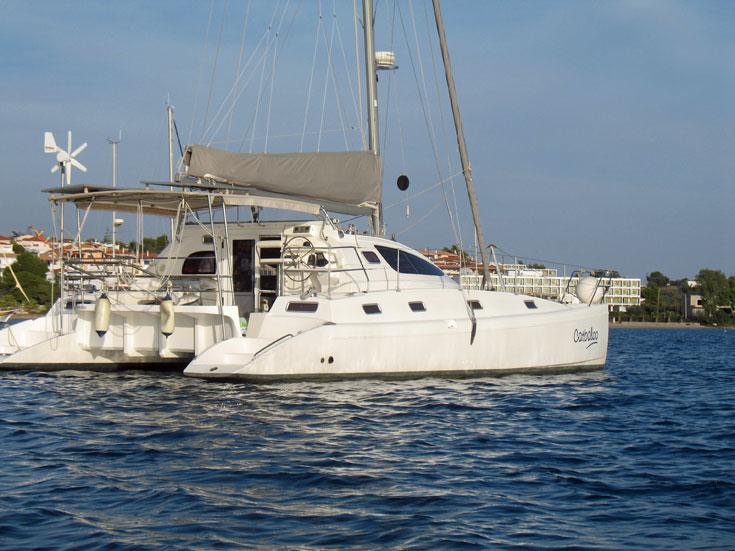 An Island Spirit 40 catamaran