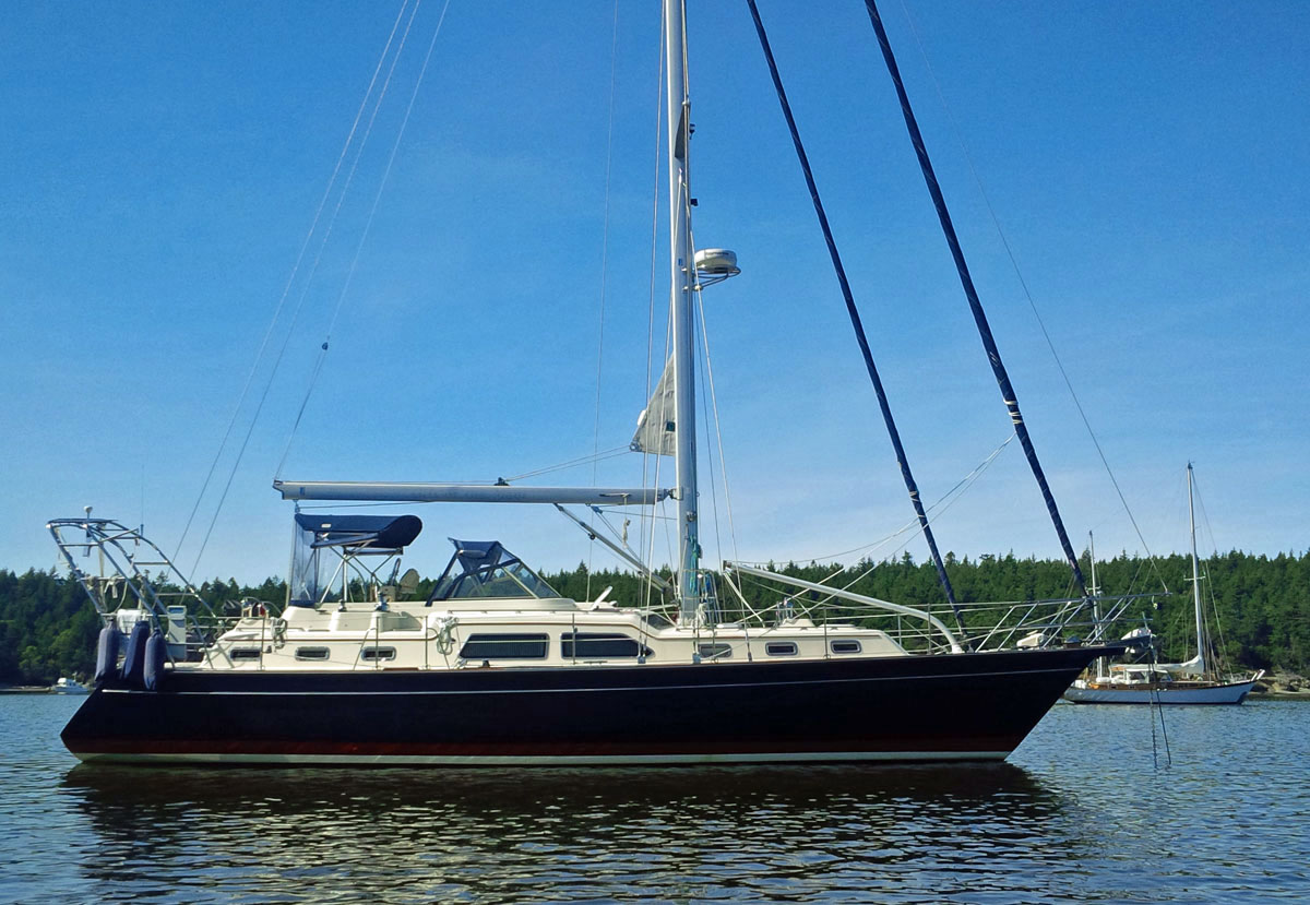 Popular Cruising Yachts From 40 Ft To 45 Ft 12 2m To 13 7m Long Overall