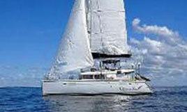 a Lagoon 450 F catamaran for sale