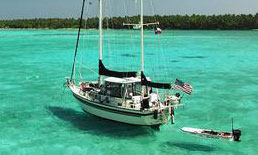 'Lone Star Love', a Stamas 44 Liveaboard Cruiser for sale