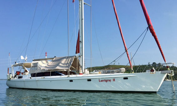 A Dix 65 sailboat for sale