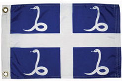 Martinique courtesy flag