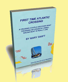 eBook by Mary Swift - Crossing the Atlantic in a small sailboat