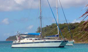 'Mary Jean', a Sungod 50 catamaran