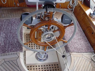 Monitor Self Steering Windvane for wheel steering
