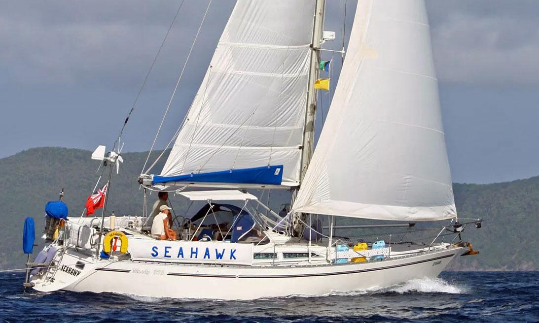 'Seahawk', a Moody 376 sloop