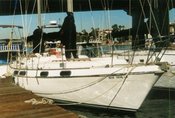 'Mystic Courage' a Morgan 41ft OutIsland Ketch for sale