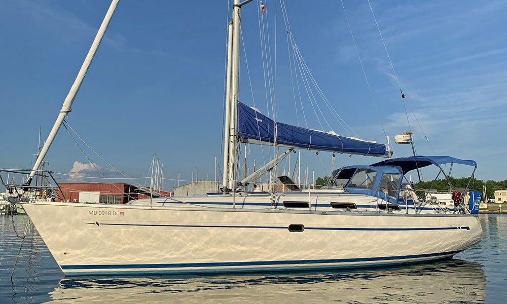 A Bavaria 40 sailboat for sale
