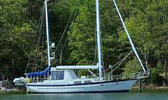 An Irwin 52 sailboat for sale