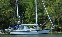 an Irwin 52 sailboat