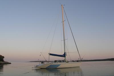A Neverin 1020 fast cruising boat