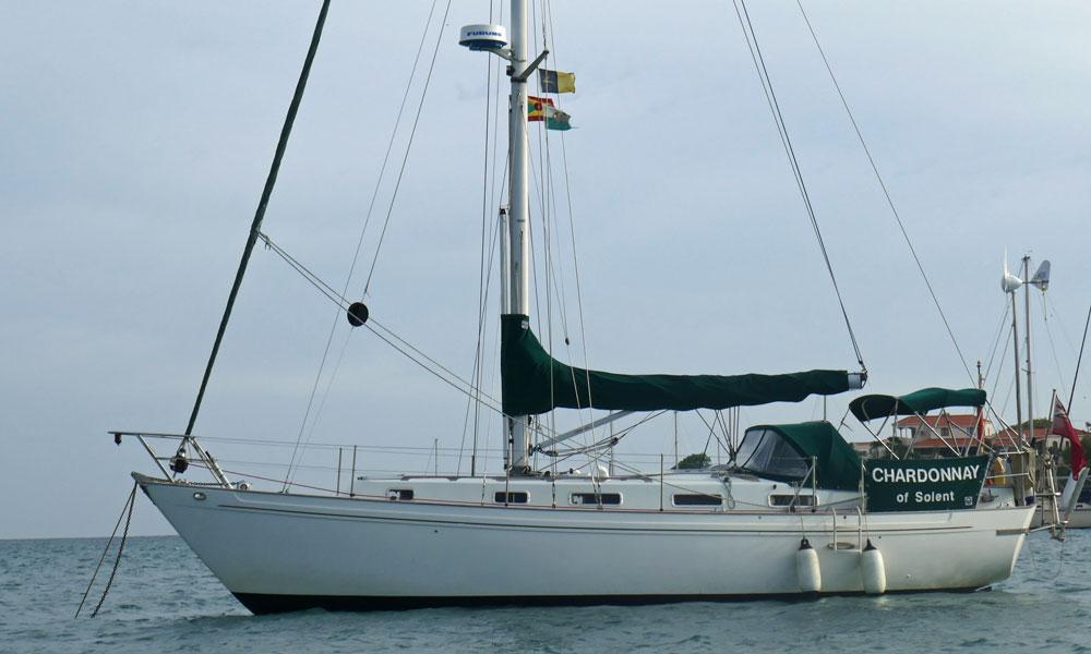 A Northshore Vancouver 36 sailboat