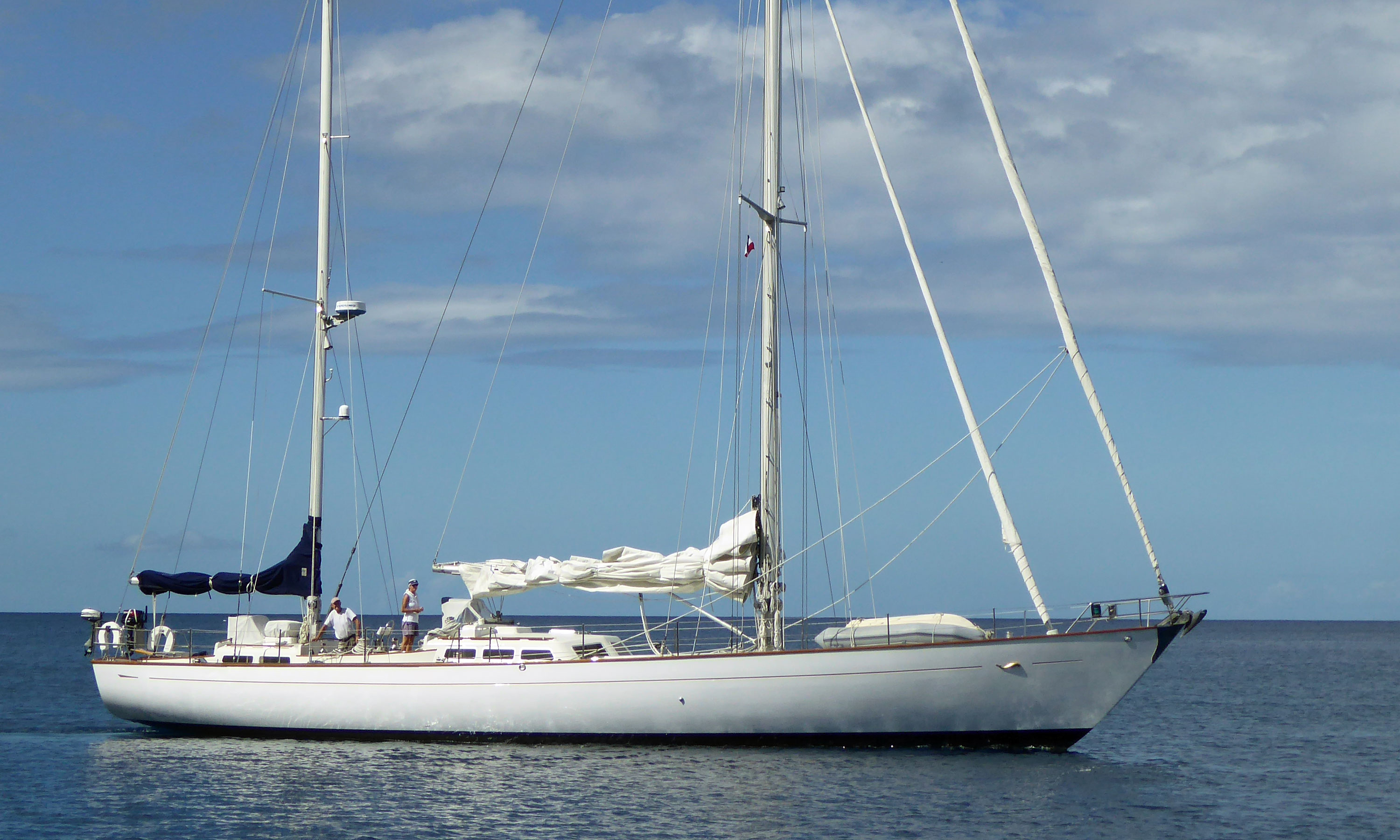 An Ocean 71 Sailboat