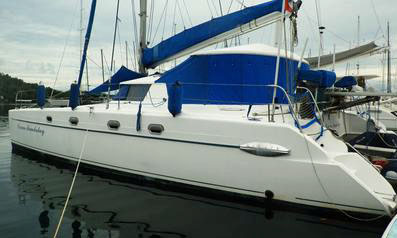 'Ocean Mandalay', a Fountaine Pajot Belize
