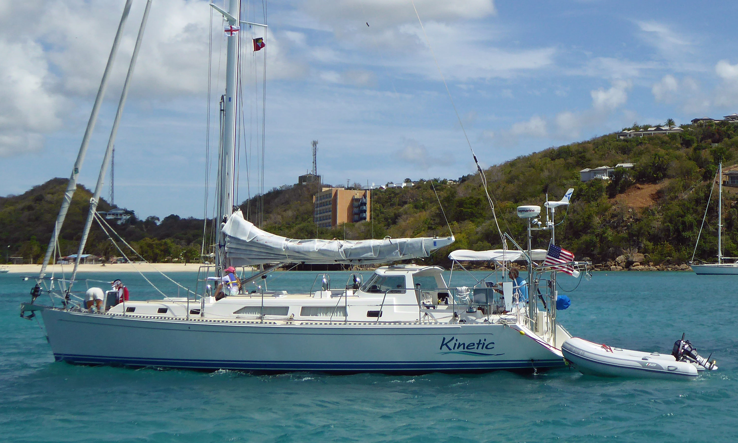 Outbound 46 performance cruising yacht