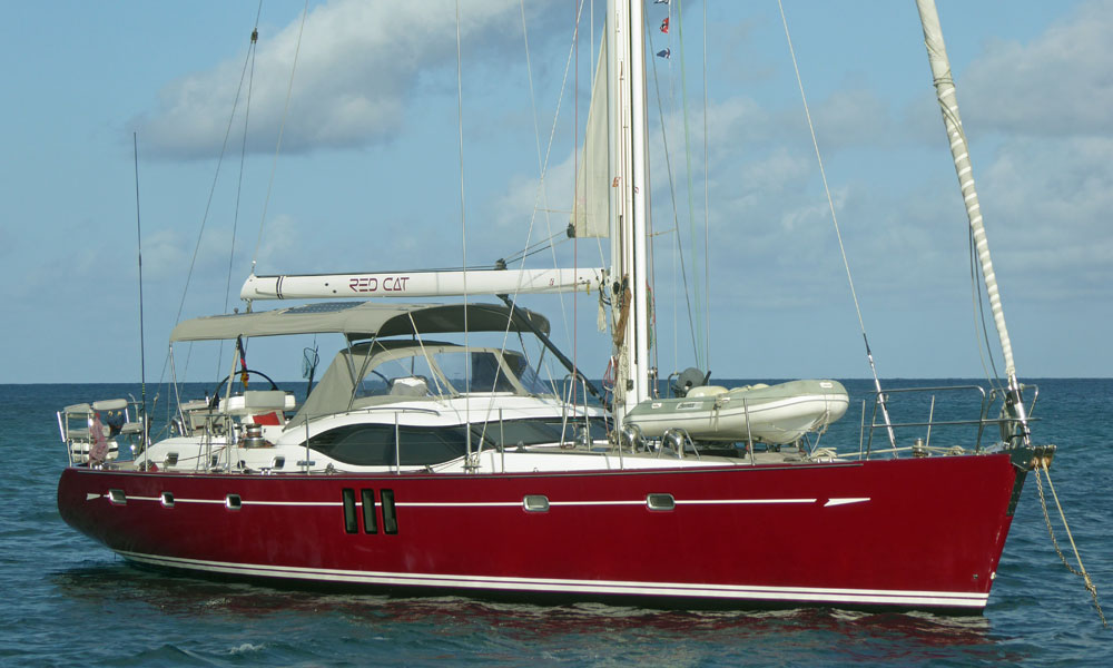 Oyster 625 cruising yacht