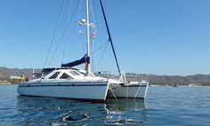 A Privilege 42 catamaran for sale