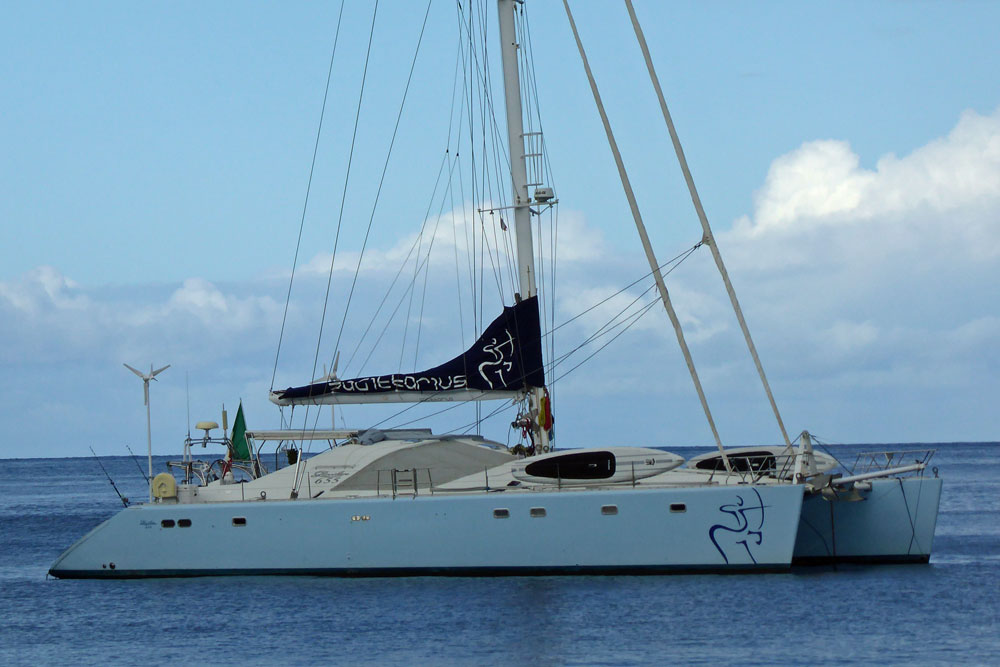 Privilege 655 Cruising Catamaran