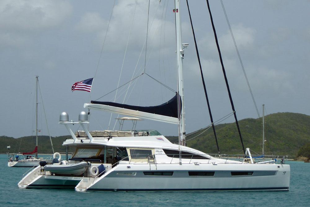 Privilege 745 Cruising Catamaran