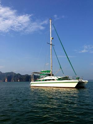 A Prout Snowgoose Elite Cruising Catamaran