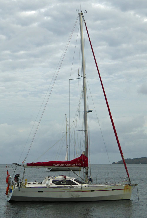 The RM 1050 epoxy-plywood cutter rigged cruising boat