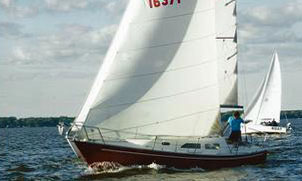 A Ranger 27 sailboat for sale