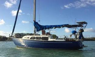 A Ranger 33 sailboat for sale