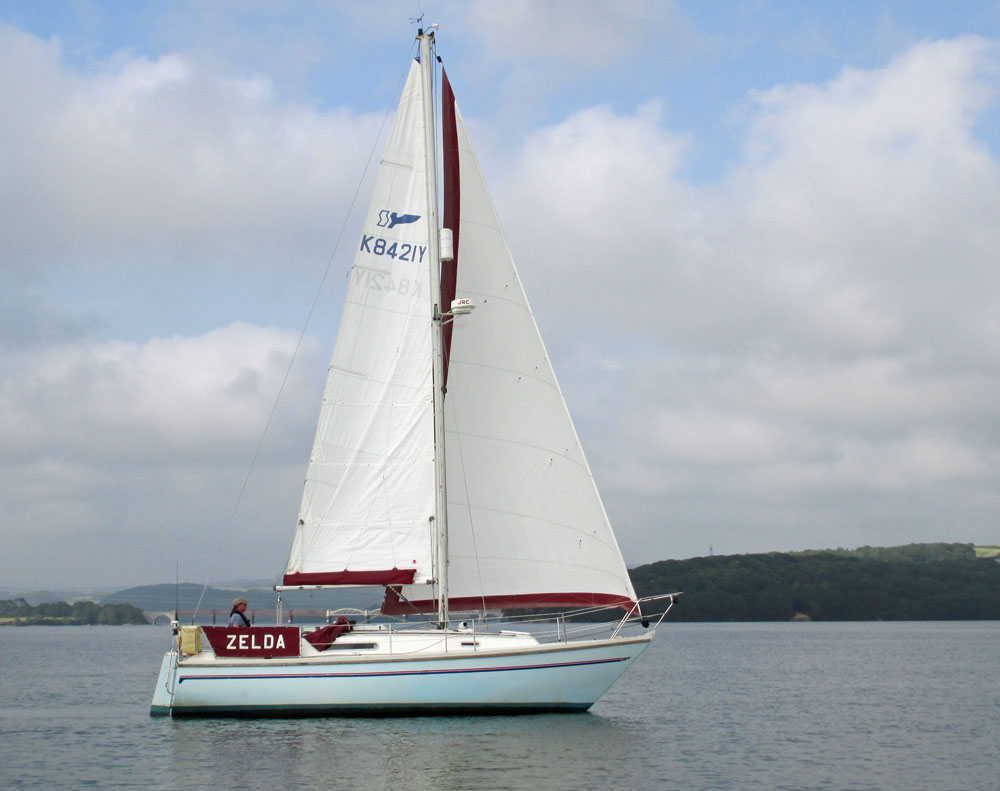 A Sadler 29 sailboat