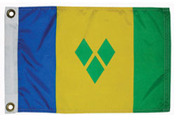 St Vincent & the Grenadines courtesy ensign