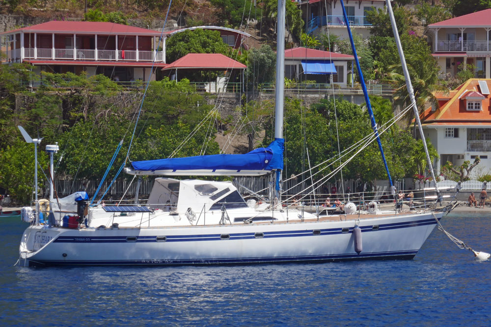 Tayana 55 cutter for sale