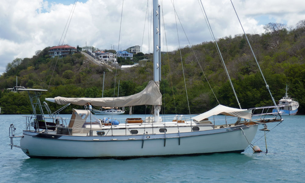 A Tayana 37 for sale