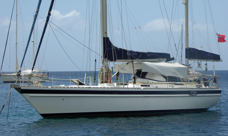 Trintilla 44 cruising yacht with solent rig