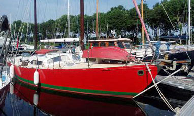 A Tucker Charybdis 35 sailboat for sale
