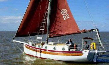 'Waxwing', a Bristol Channel Pilot Cutter for sale