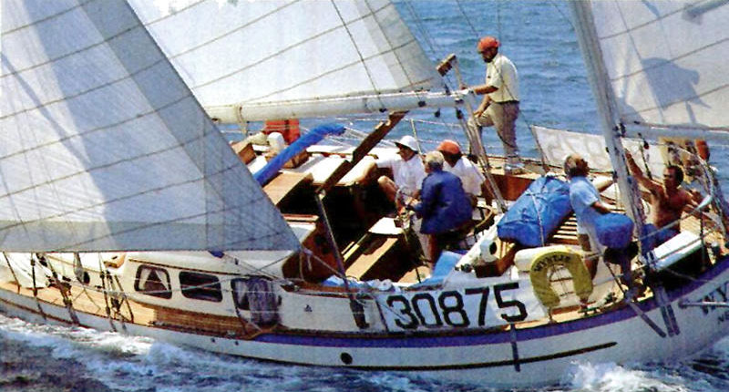 A Westsail 42 sailboat for sale