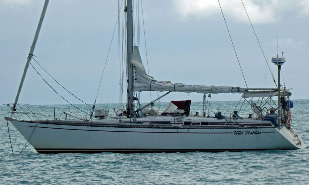 'Wild Matilda', an RH43 cruising yacht designed by Ron Holland