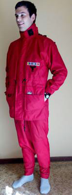 Sailing jacket and trousers