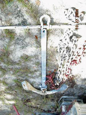 40lb Yachtsman Anchor & HD Chain for Sale