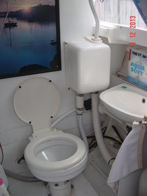 The toilet compartment