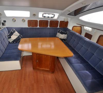 Plane Sailing , an Admiral 38 Exec Bluewater Sailing Catamaran For Sale