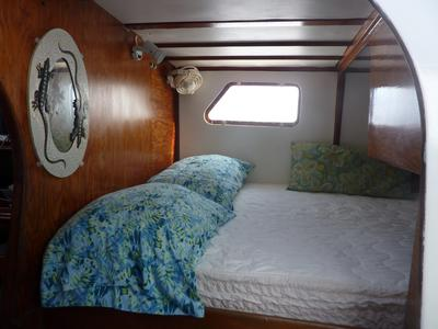 Forward Cabin with 2 Beds across from Each Other