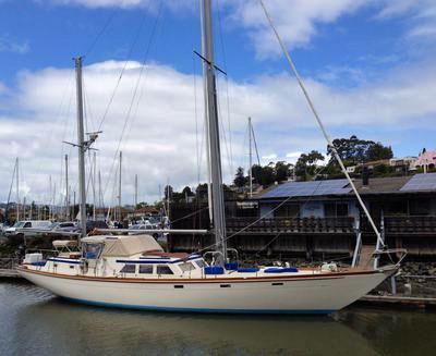 The 58 fooot Boothbay Explorer Cruising Yacht