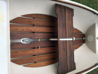 Used Trinka Sailing Dinghy for Sale (interior 2)